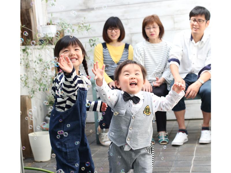 家族写真 ファミリー