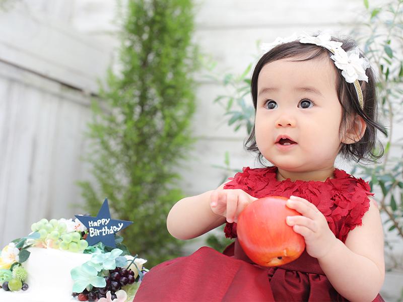 見てみて!りんごだよ‼