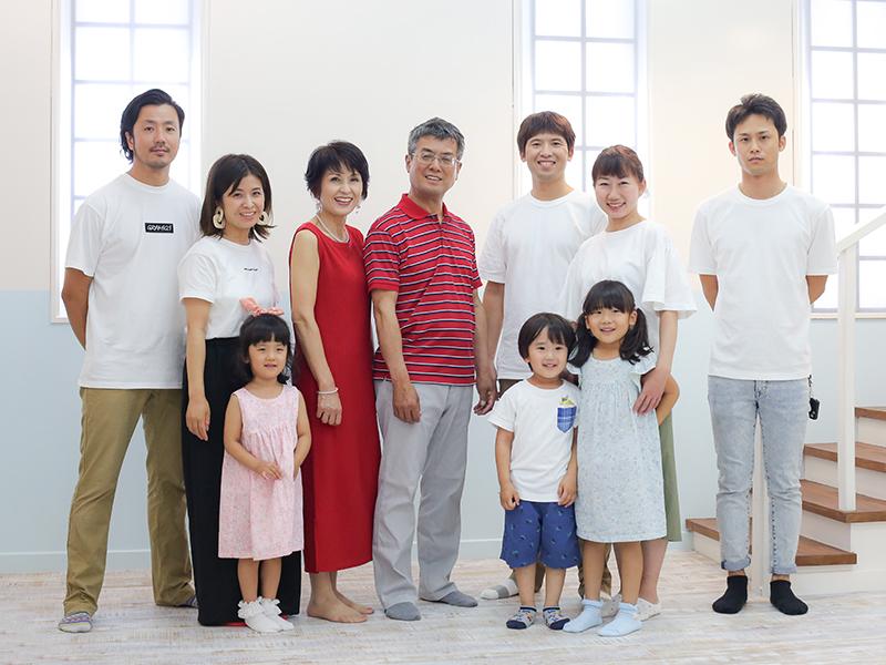 家族写真も、たまにはね